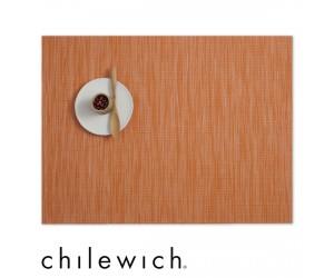 Chilewich Set Rechteckig Bamboo mandarin