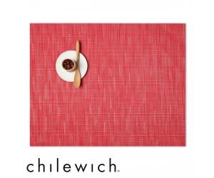 Chilewich Set Rechteckig Bamboo poppy