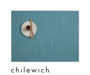 Chilewich Set Rechteckig Bamboo lapis