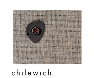 Chilewich Set Rechteckig Basketweave bark