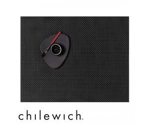 Chilewich Set Rechteckig Basketweave schwarz