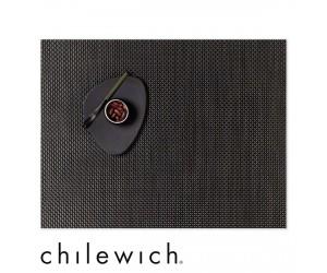 Chilewich Set Rechteckig Basketweave chestnut
