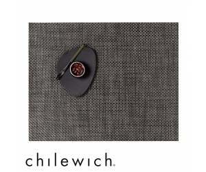 Chilewich Set Rechteckig Basketweave earth