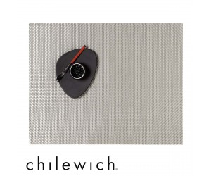 Chilewich Set Rechteckig Basketweave ice