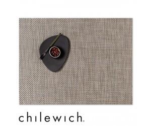 Chilewich Set Rechteckig Basketweave latte