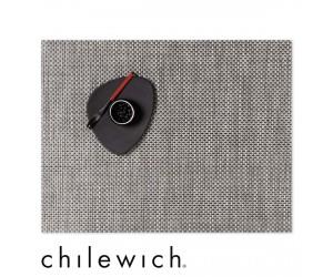 Chilewich Set Rechteckig Basketweave oyster