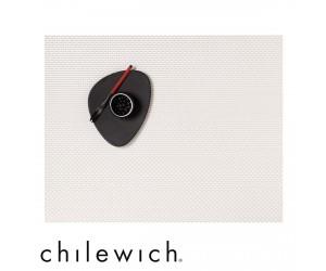Chilewich Set Rechteckig Basketweave white