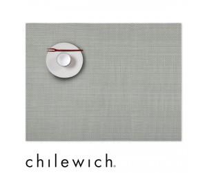 Chilewich Set Rechteckig Mini Basketweave aloe