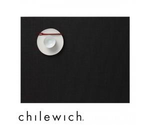 Chilewich Set Rechteckig Mini Basketweave schwarz