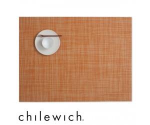 Chilewich Set Rechteckig Mini Basketweave clementine