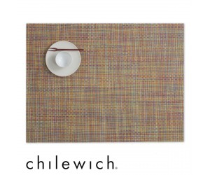 Chilewich Set Rechteckig Mini Basketweave confetti