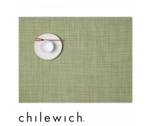 Chilewich Set Rechteckig Mini Basketweave dill