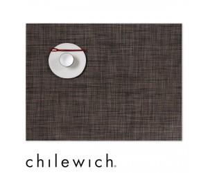 Chilewich Set Rechteckig Mini Basketweave walnuss dunkel
