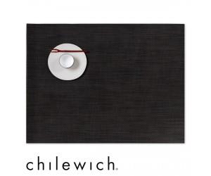 Chilewich Set Rechteckig Mini Basketweave espresso