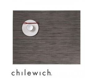 Chilewich Set Rechteckig Mini Basketweave light grey
