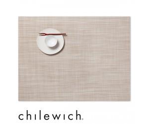 Chilewich Set Rechteckig Mini Basketweave parchment