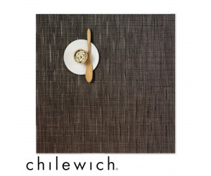Chilewich Set Quadratisch Bamboo chocolate