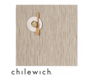 Chilewich Set Quadratisch Bamboo oat