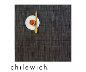 Chilewich Set Quadratisch Bamboo smoke