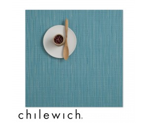Chilewich Set Quadratisch Bamboo teal