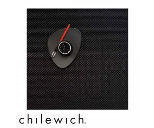 Chilewich Set Quadratisch Basketweave black
