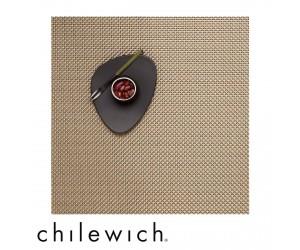Chilewich Set Quadratisch Basketweave new gold