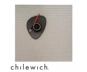Chilewich Set Quadratisch Basketweave ice