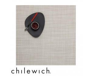 Chilewich Set Quadratisch Basketweave khaki