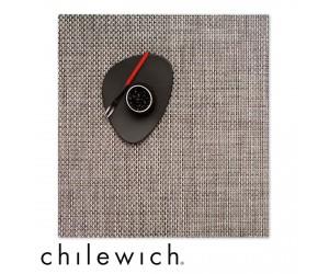 Chilewich Set Quadratisch Basketweave oyster