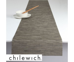 Chilewich Läufer Bamboo charcoal