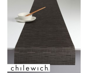 Chilewich Läufer Bamboo chocolate