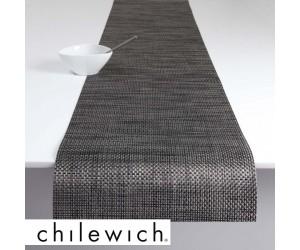 Chilewich Läufer Basketweave carbon