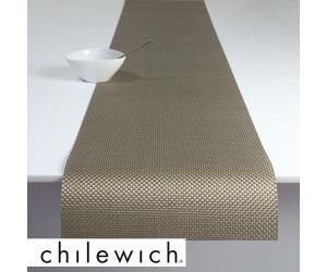 Chilewich Läufer Basketweave new gold