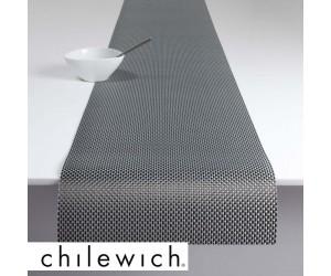 Chilewich Läufer Basketweave titanium
