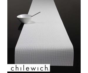 Chilewich Läufer Basketweave weiß