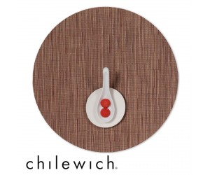 Chilewich Set Rund Bamboo brick