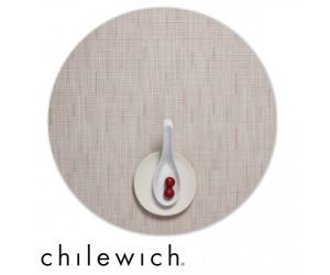 Chilewich Set Rund Bamboo chino