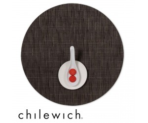 Chilewich Set Rund Bamboo chocolate