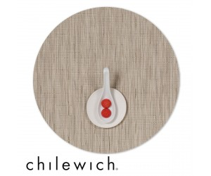 Chilewich Set Rund Bamboo oat