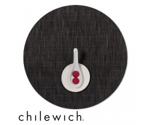 Chilewich Set Rund Bamboo smoke