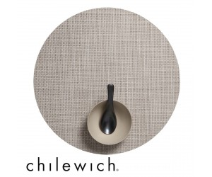 Chilewich Set Rund Basketweave khaki