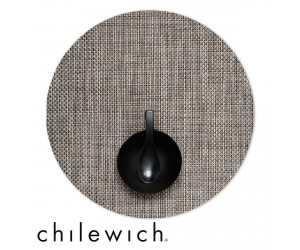 Chilewich Set Rund Basketweave oyster