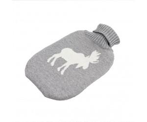 Lenz und Leif Wärmflasche Elk grau/weiß