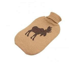 Lenz und Leif Wärmflasche Elk camel/braun