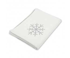 Lenz und Leif Decke Snowflakes weiß/grau