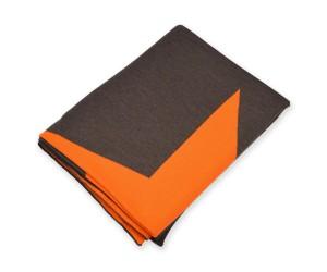 Lenz und Leif Decke Star braun/orange