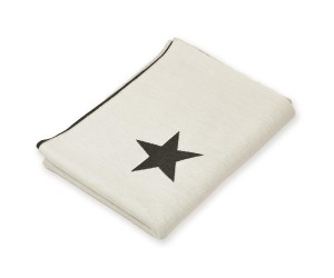 Lenz und Leif Decke Stars weiß/dunkelgrau