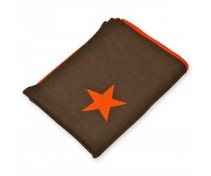 Lenz und Leif Decke Stars braun/orange