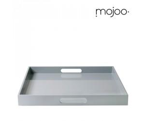 Mojoo Lacktablett quadratisch large mit Griff cool grey