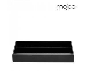 Mojoo Lacktablett für Papierablage black